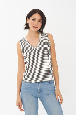 Aries Striped Tank