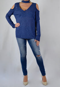 Bromley Top - Navy