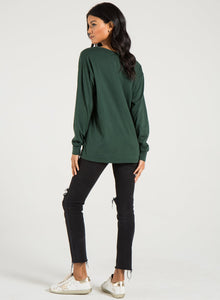 Jennel Henley in Forest Green