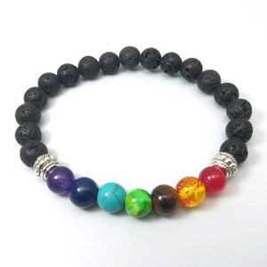 Cool Design 7 Chakra Natural Stone Bracelets-style3-One Size-Multi Color-GRABITEMS.COM