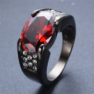 Charming Fat Red Ring