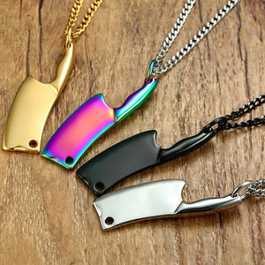 Mini Blade Chef Kitchen Knife Pendant Necklace