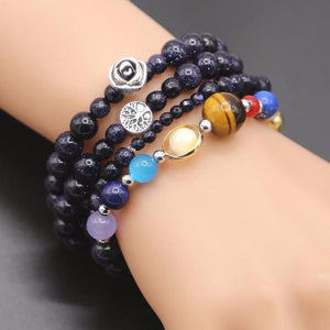 Solar System Guardian Stars Bracelet 4 Pieces / Set