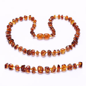 2018 Newest Amber Teething Necklace and Bracelet for Baby