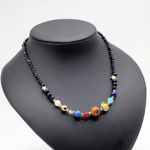 Solar System Necklace - New and Unique-GRABITEMS.COM