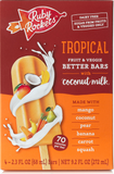Tropical Fruit & Veggie Better Bars with Coconut Milk
