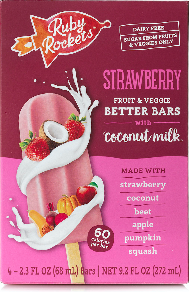 Strawberry Fruit & Veggie Better Bars with Coconut Milk