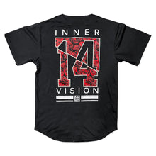 Load image into Gallery viewer, Fourteenth Letter Baseball Jersey - Rose