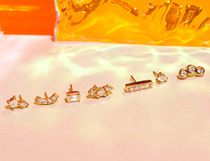 <b>Piercing earrings</b>