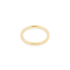 "Gold 3/8"" 18 Gauge Seamless Ring"