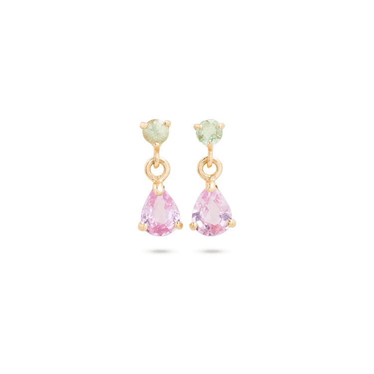 Cotton Candy Drop Earrings