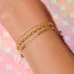 Diamond Bar Slider Bracelet