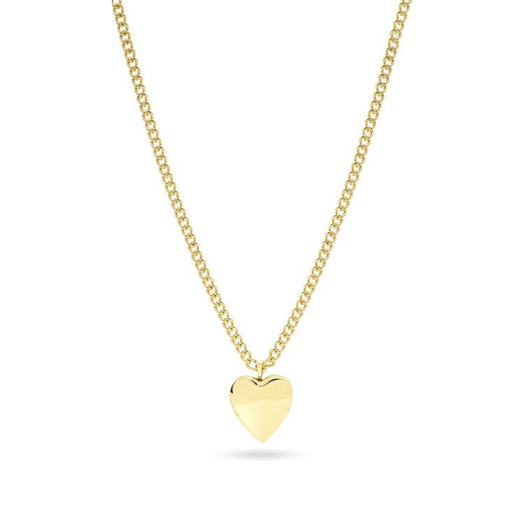 Gold Filled In My Heart Locket