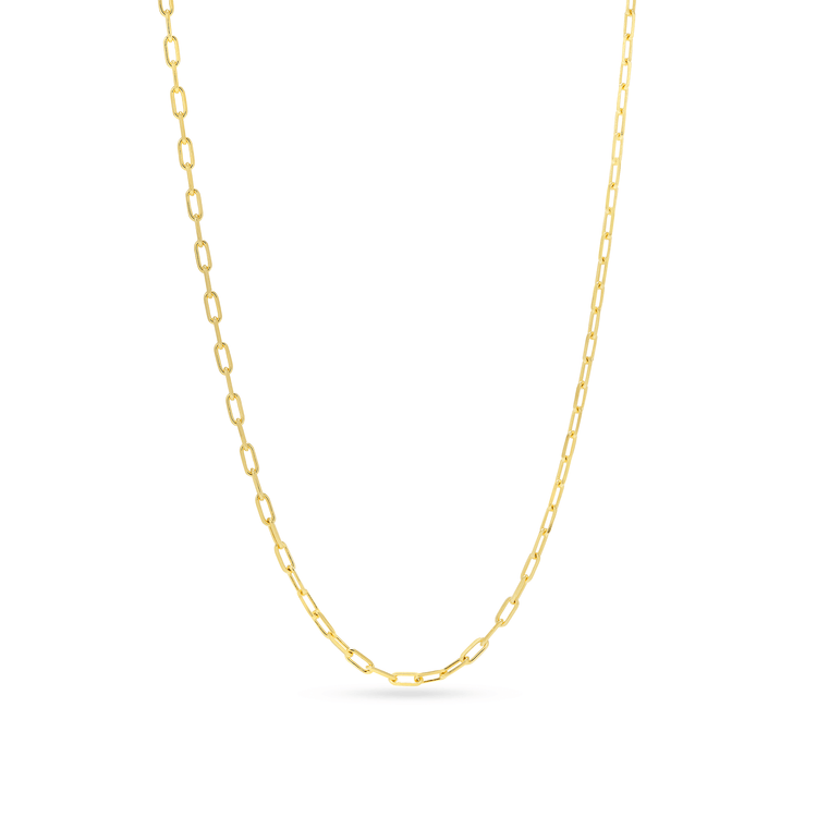 Gold Plated Open Link Necklace