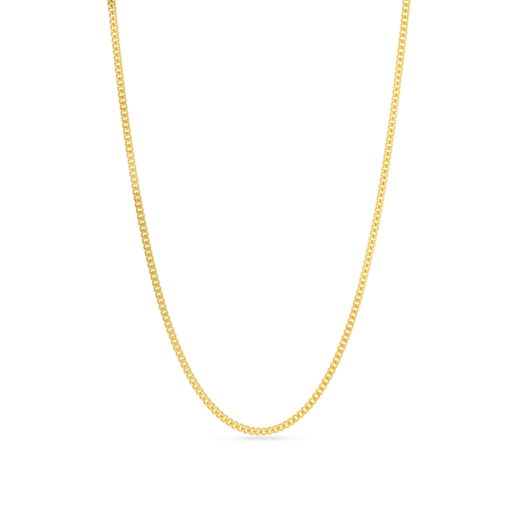 Gold Plated Ultra Bold Cable Chain Necklace