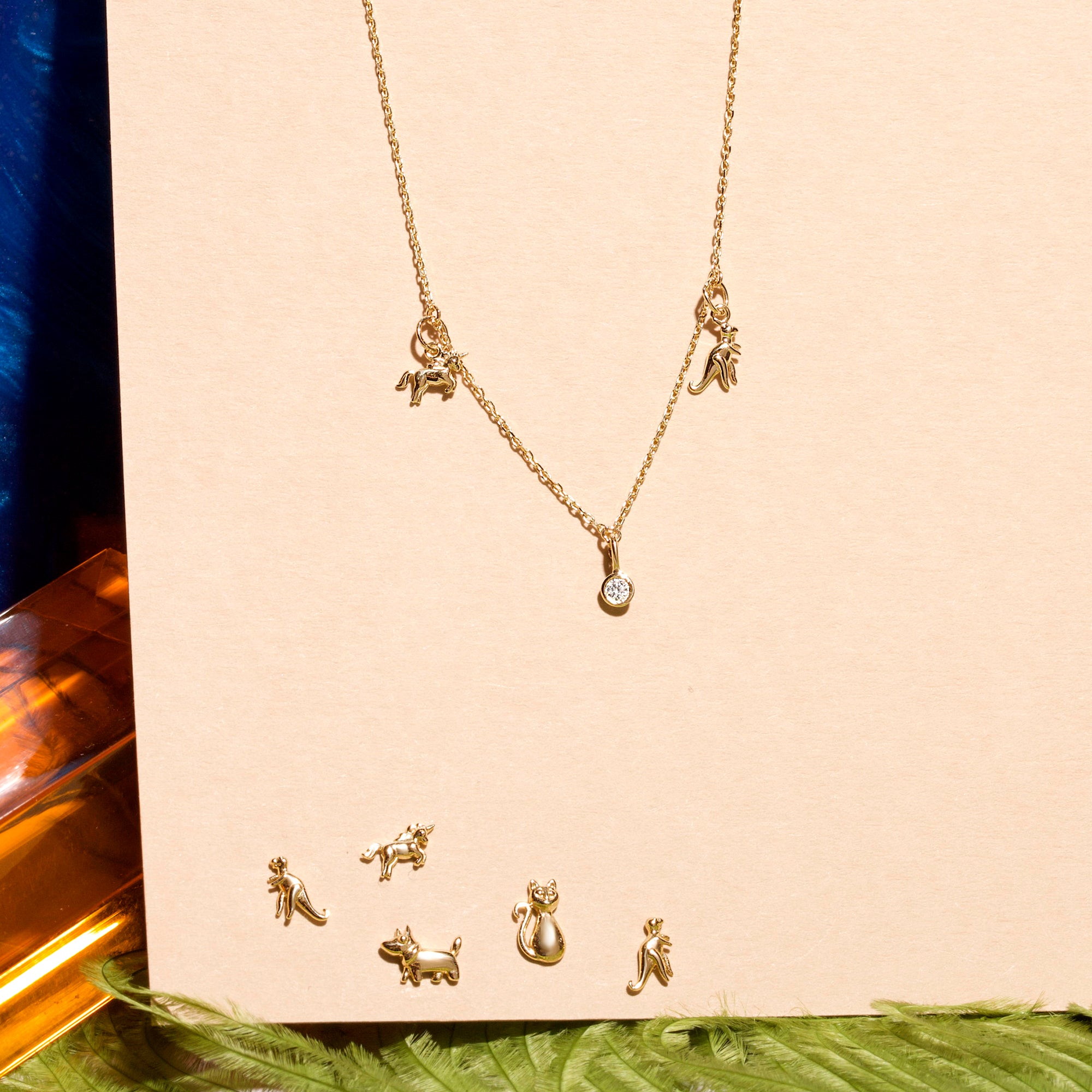 Lucky Charms Mini Animal Necklace