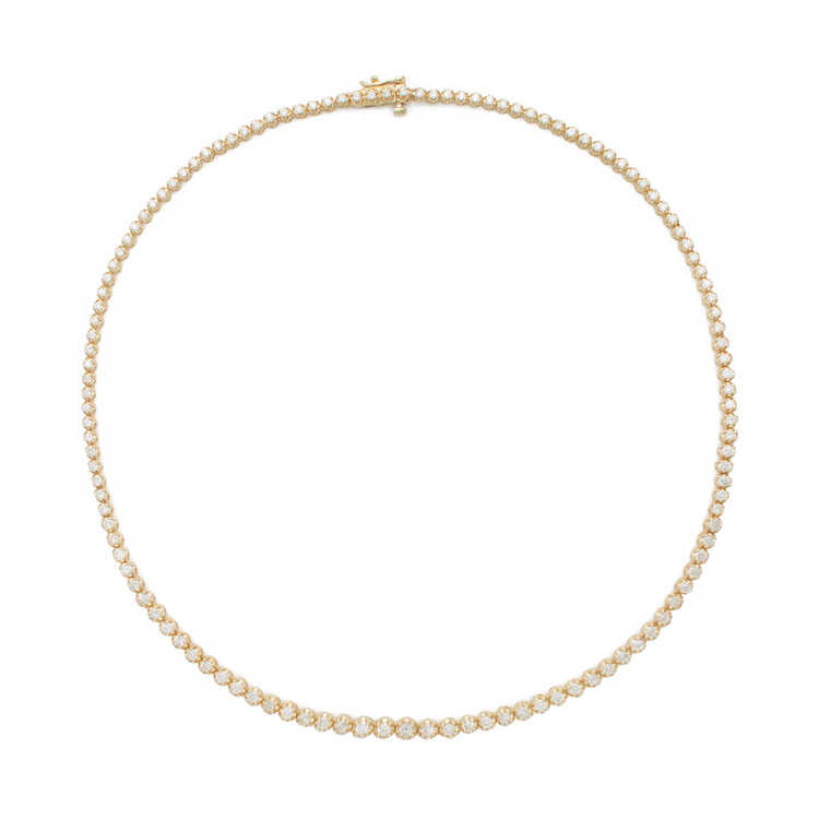 Noble Diamond Tennis Necklace