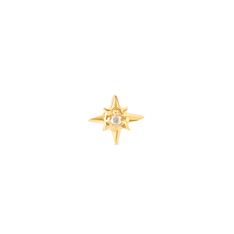 North Star Piercing Earring