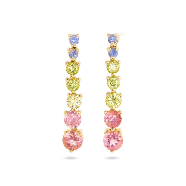 Rainbow Bright Drop Earrings