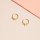 Saturn Fixed Piercing Earring