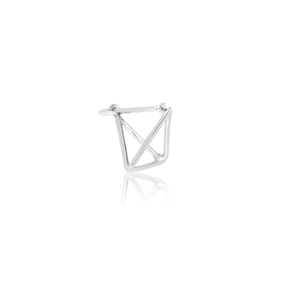Tiny Triangle Earring