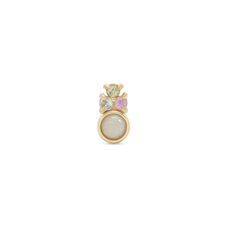 Unicorn Opal Crown Stud