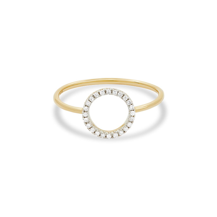 Well Rounded Diamond Ring