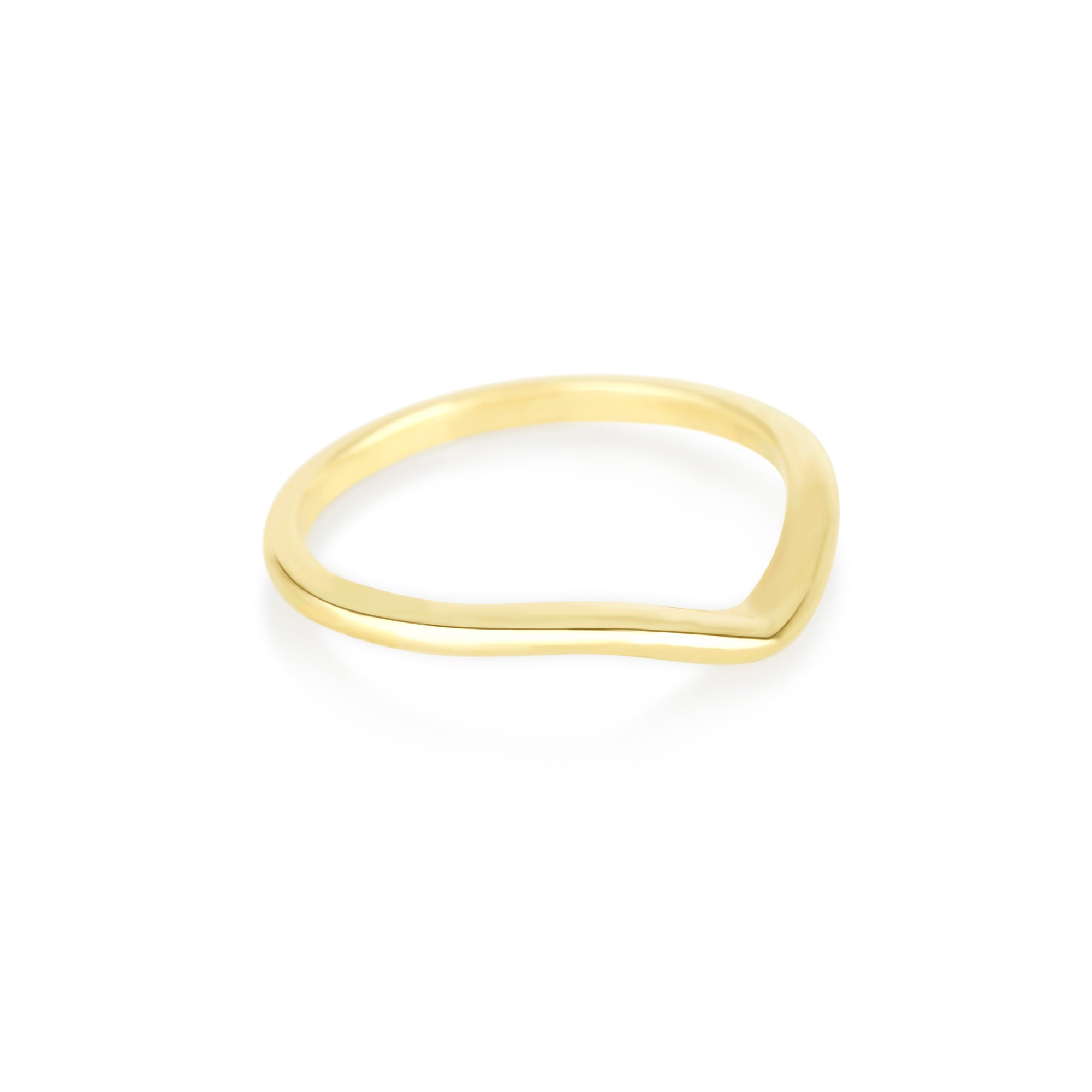 Bold Gold Curve Band