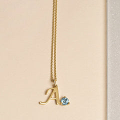 Get Personal Birthstone Necklace