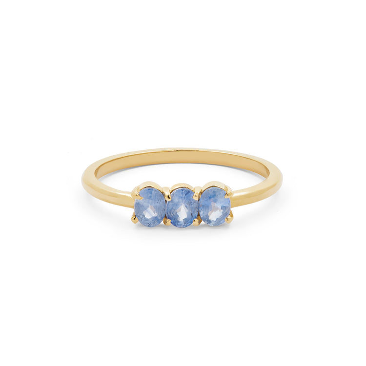 Le Bleu Oval Ring
