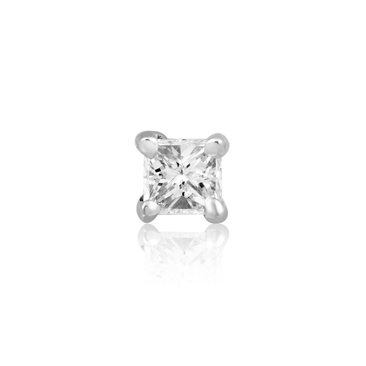 Tiny Princess Diamond Stud - STONE AND STRAND