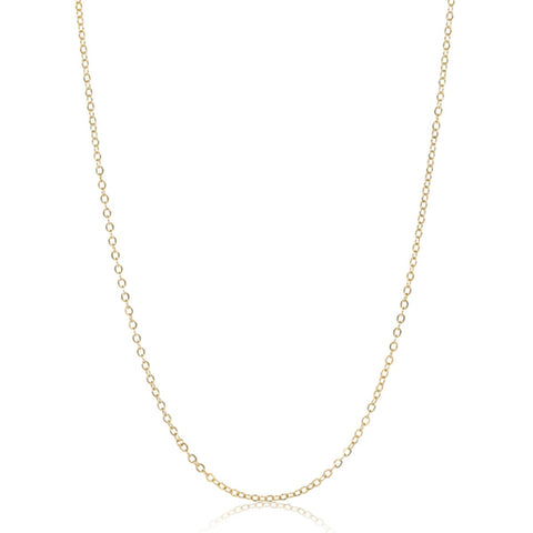 "24"" Gold Vermeil Chain Necklace - STONE AND STRAND"