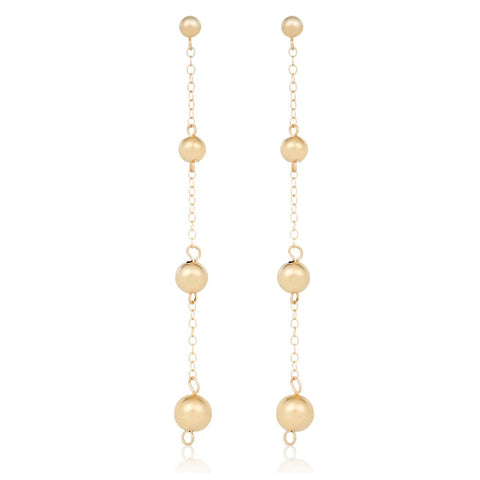 Gold Bonbon Earrings - STONE AND STRAND