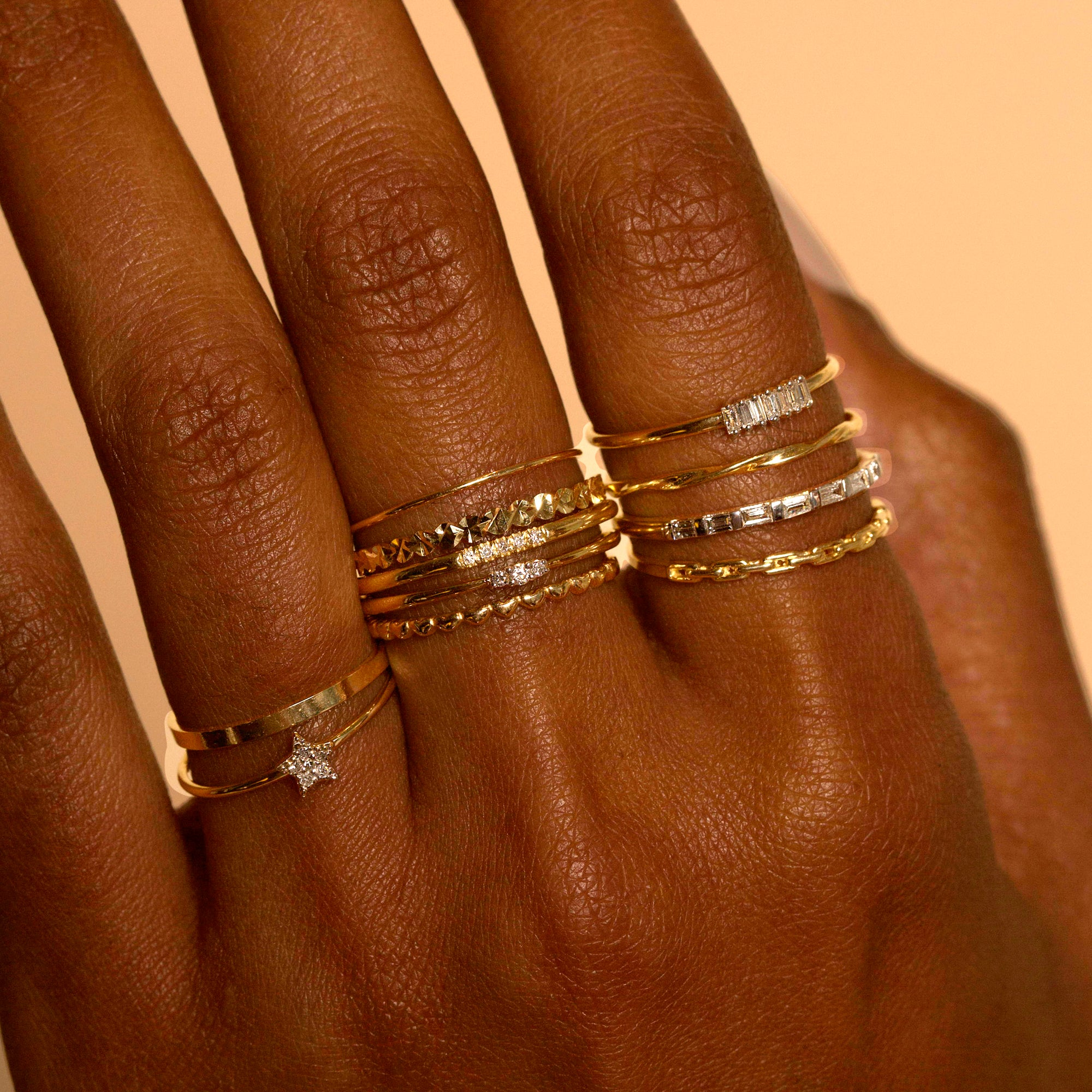 White Gold Ultra Fine Gold Band
