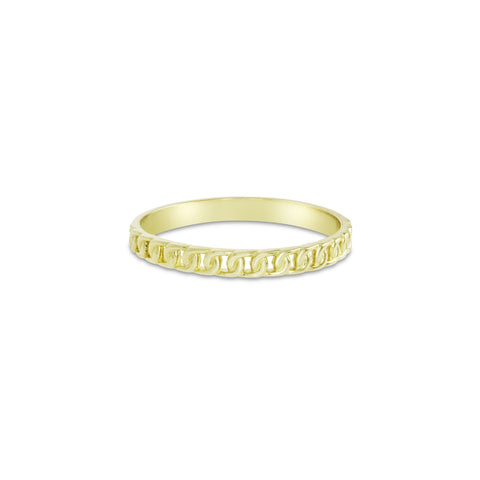 Gold Linked Ring