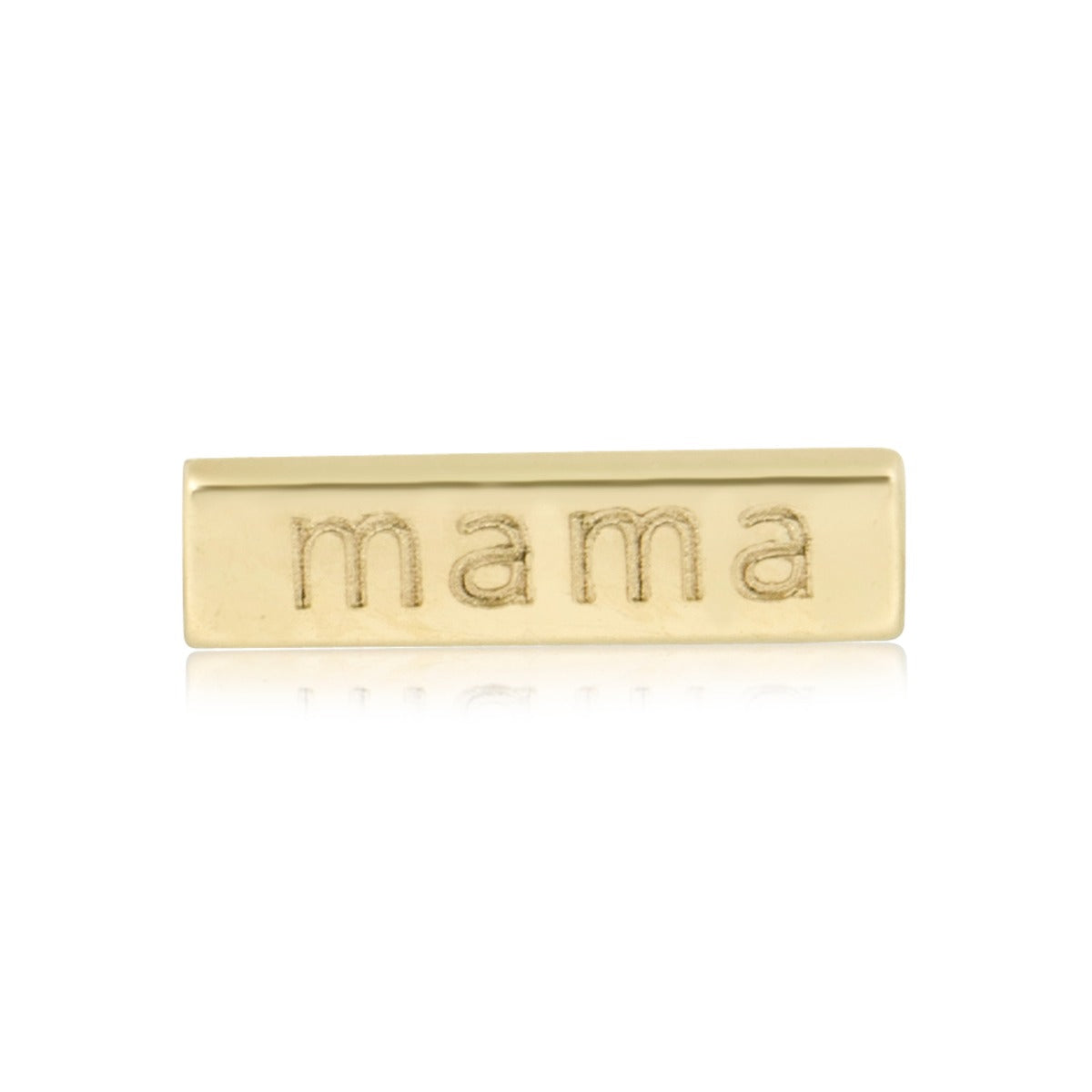 Mama Bar Stud Earring