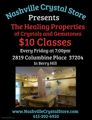 Friday Evening Crystal Class