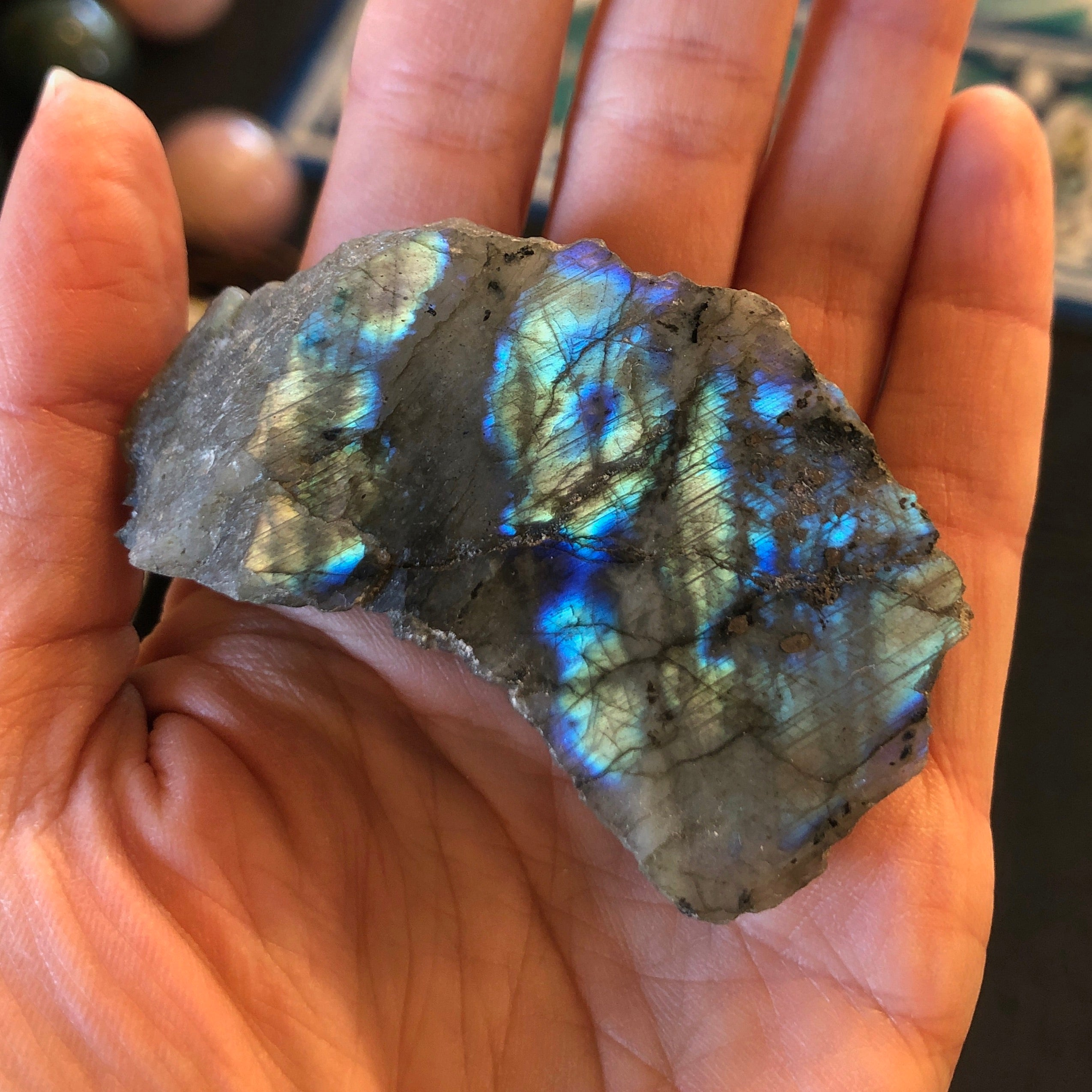 Labradorite with Polished Face
