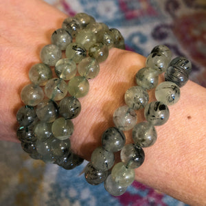 Prehnite and Epidote Bracelet