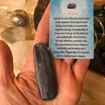 Kyanite Polished Blade (Blue)