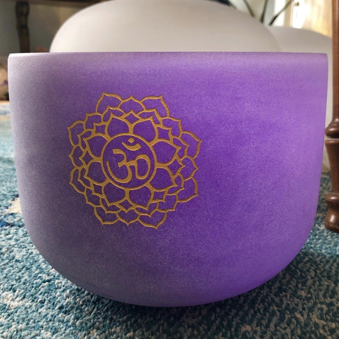 Crystal Singing Bowl (Sahasrara or Crown Chakra)