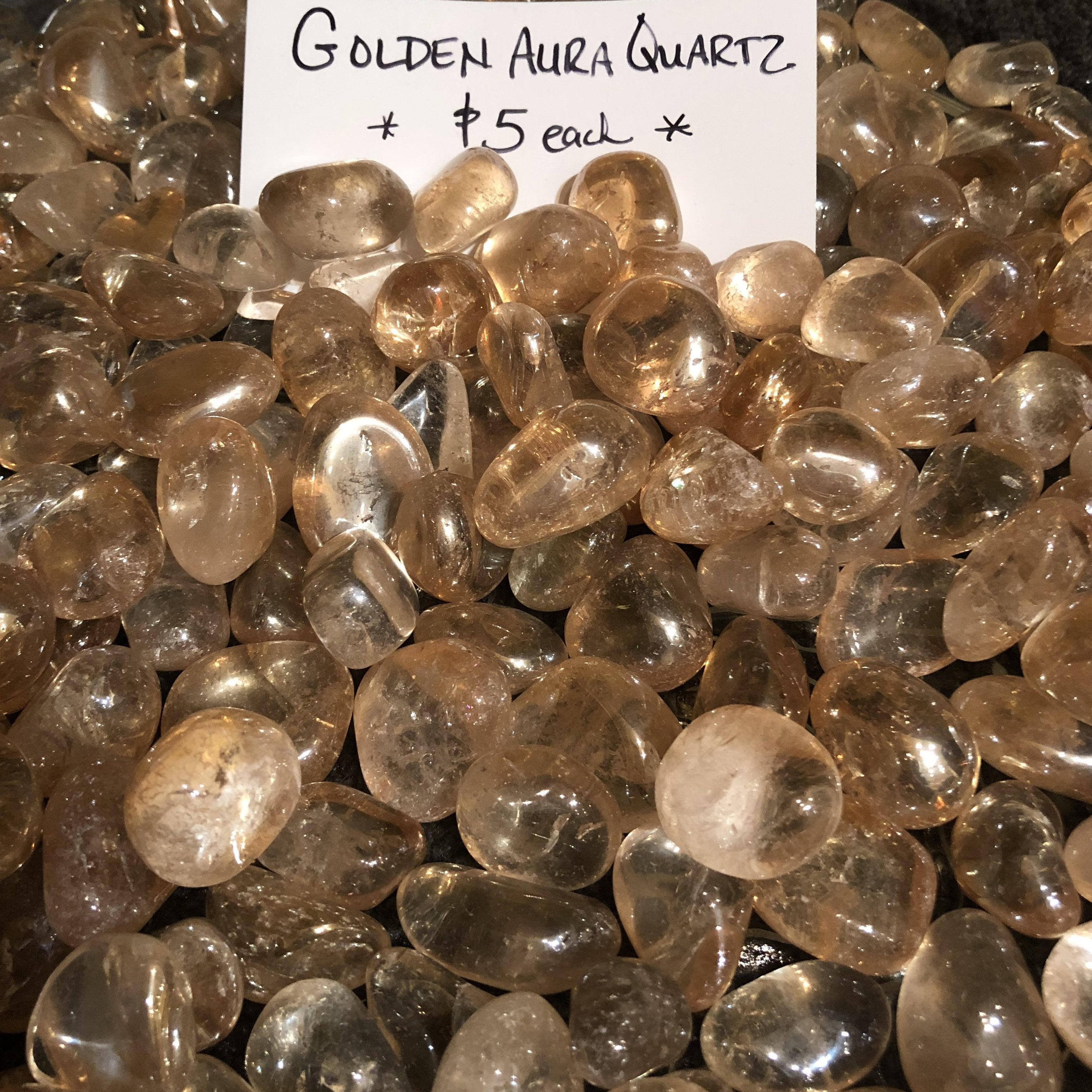Golden Aura Quartz