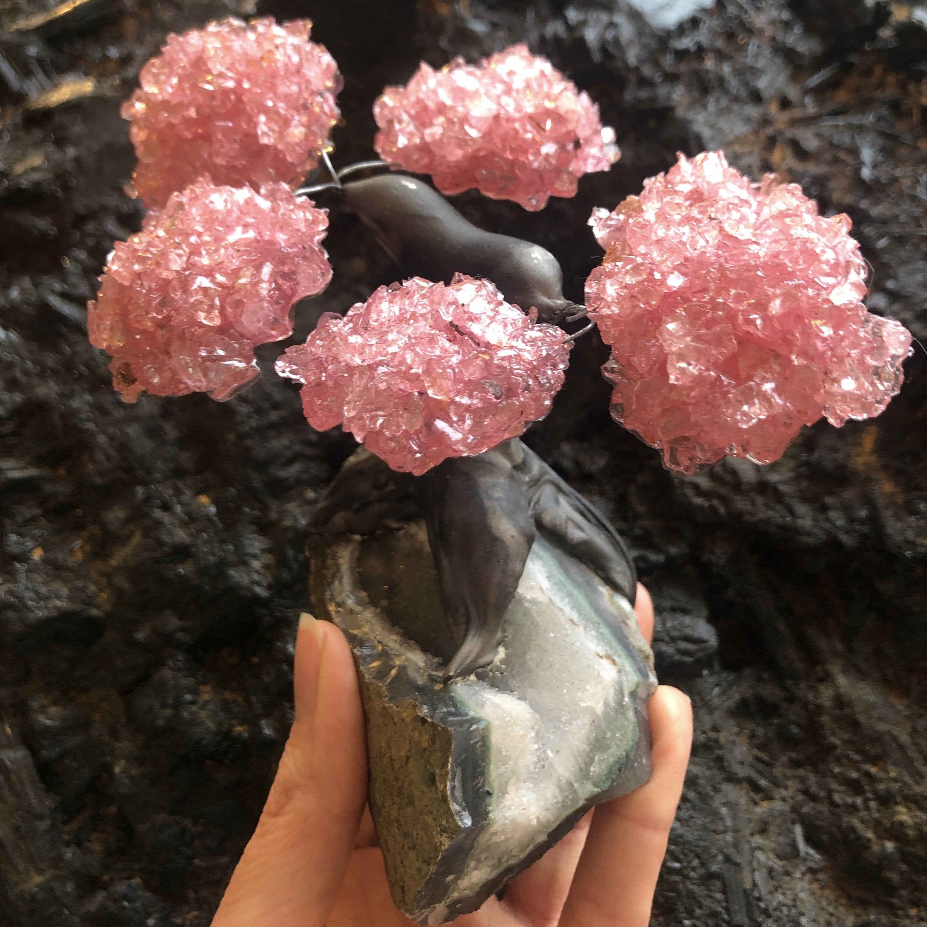 Rose Quartz Tree (Small)