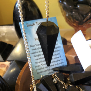 Tourmaline Pendulum (Black)