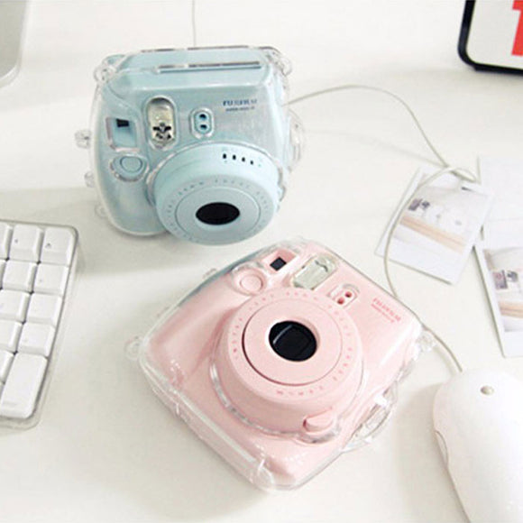 Transparent Cover for Fuji Fujifilm Instax Mini 8