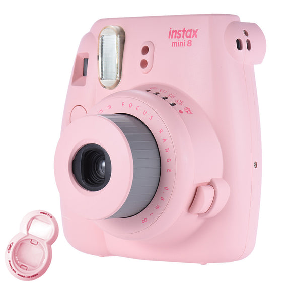 Fujifilm Instax Mini 8 Camera (+ Free close up Lens)