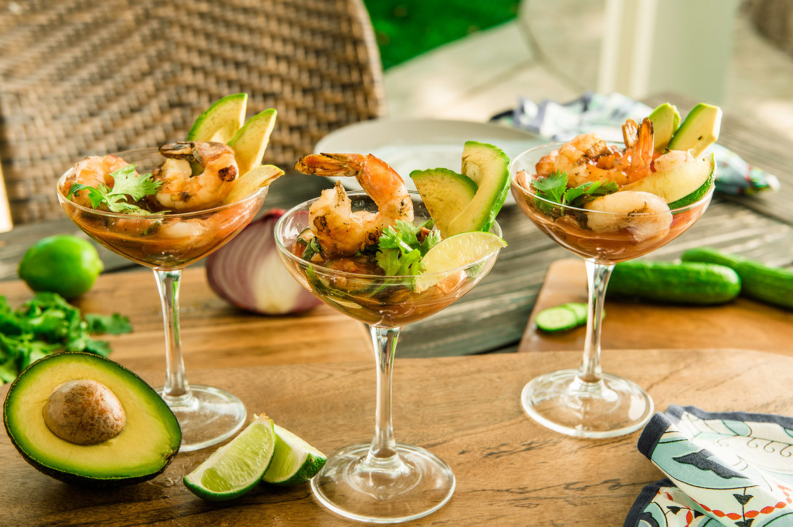 Grilled Mexican Shrimp Cocktail Recipe