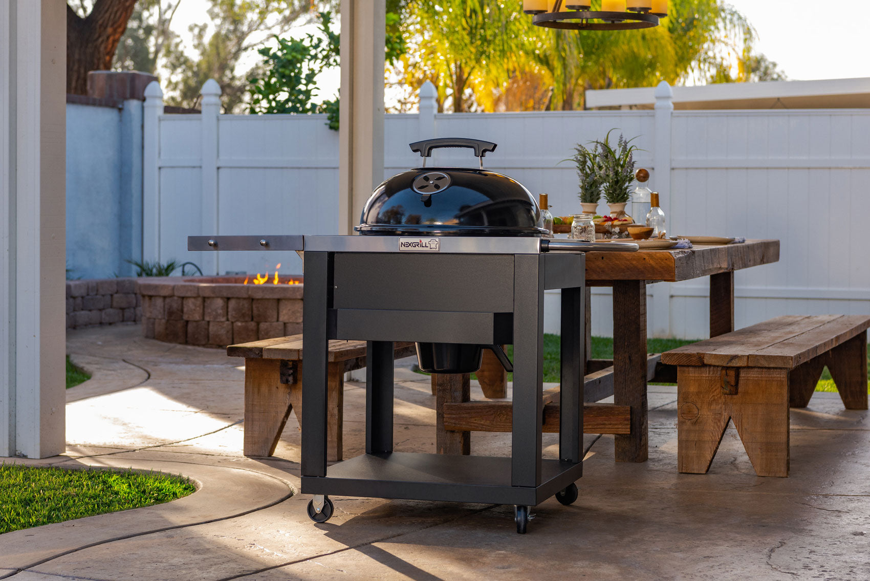 Nexgrill Charcoal Kettle Cart Grill