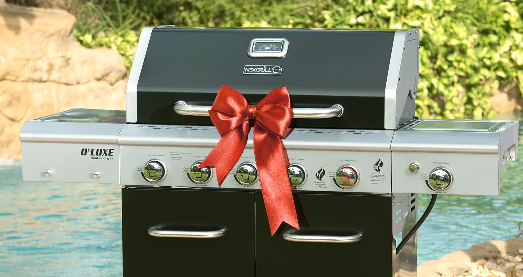 big bow on nexgrill grill