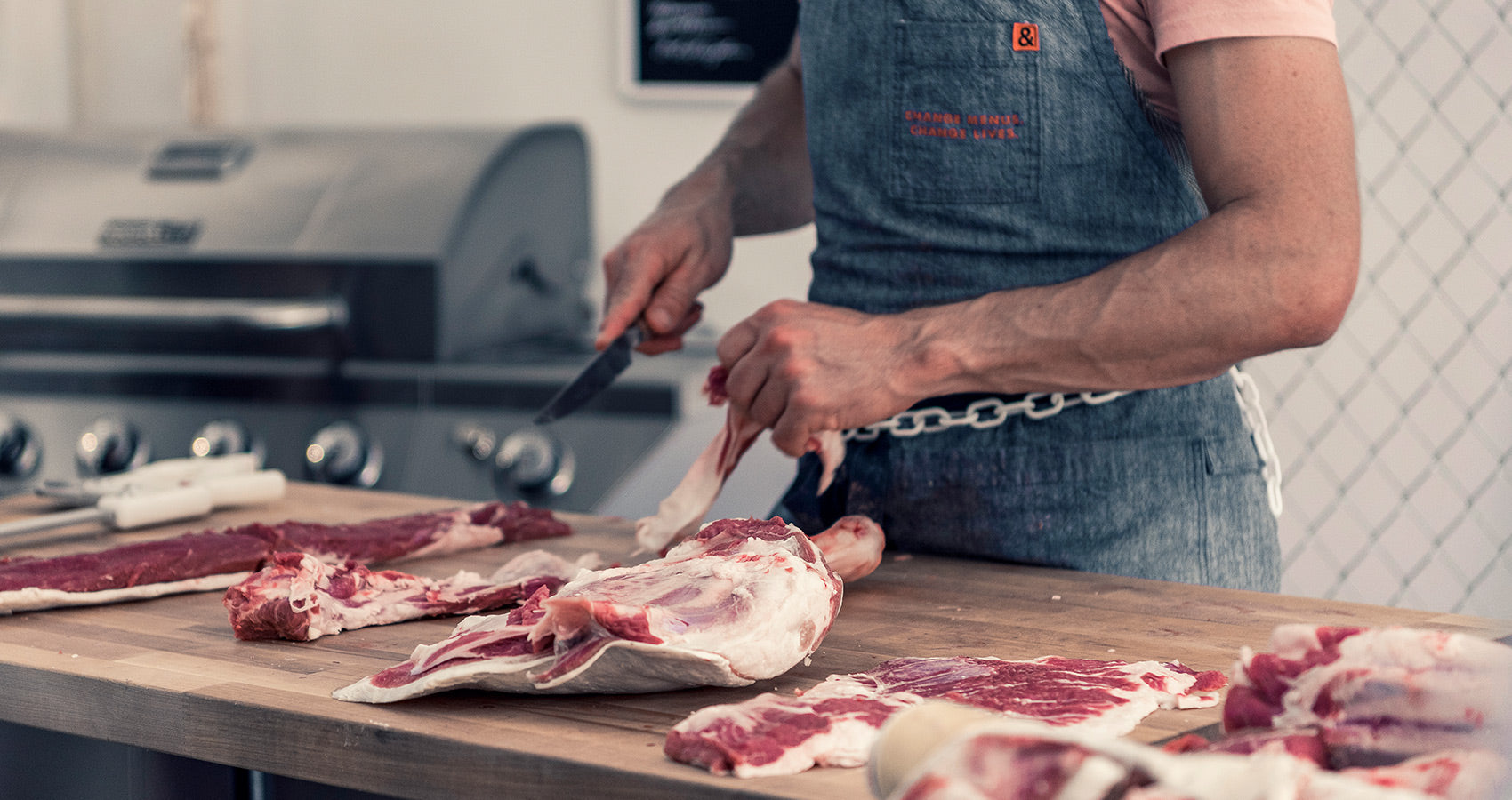 adam danforth butcher butchering beef cuts